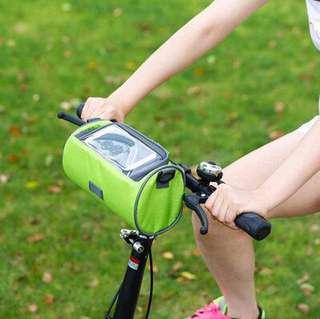 Waterproof Bicycle Bike Front Storage Bag with Touchscreen
