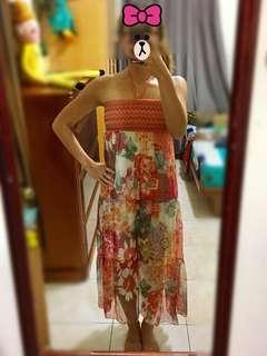 🚚 夏日海灘渡假風洋裝