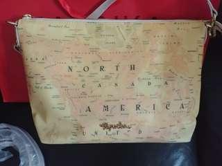 Paprika地圖可上膊或斜揹手袋