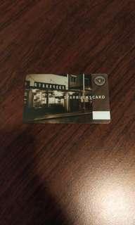 絶版香港星巴克卡 Rare Hong Kong Starbucks Card
