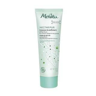 🌟 Melvita Nectar Pur Mask & Scrub 有機薄荷深層淨膚磨砂面膜 4ml