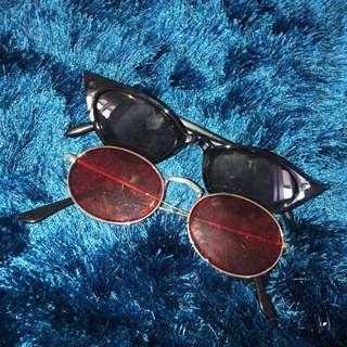 kacamata murah kekinian sun glasses / eyewear preloved