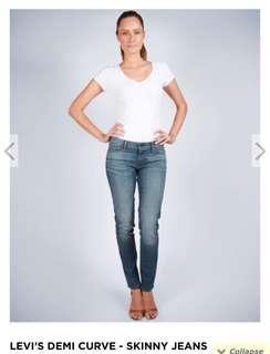 Levi's Low Revel Demi Curve Skinny Jeans