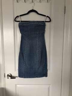 Vintage Calvin Klein Jean Dress
