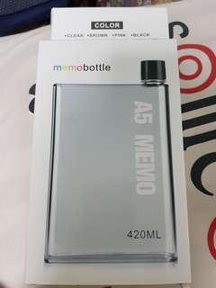 A5 Memo Water Bottle
