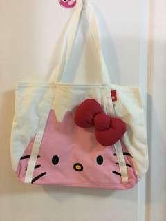 🚚 全新 日本帶回 Hello kitty包 購物袋