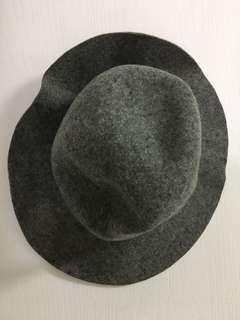 🚚 灰色羊毛帽