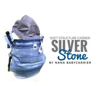 #CLEARANCE [TODDLER] Nana Baby Carrier - Silver Stone ($75)