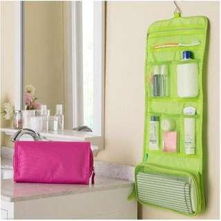 Travel Bag portable hanging toiletry rack