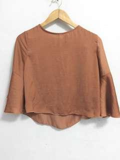 Copper blouse