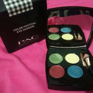 PAC Eyeshadow Color Festival (Rainbow Chic)