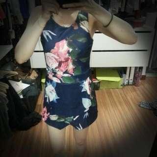Floral Jumpsuit (New!)