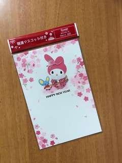 Sanrio My Melody Post Card 明信片 4枚入