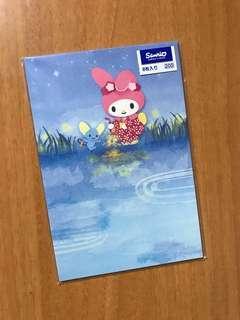 Sanrio My Melody Post Card 明信片 8枚入