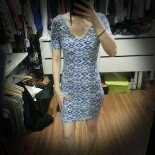 H&M Blue Dress (New!)