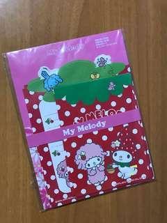 Sanrio My Melody 信封信紙套裝