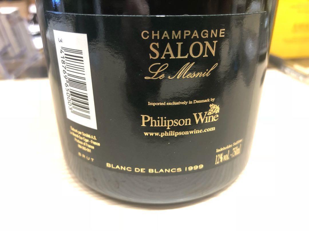 行貨Champagne Salon 1999 Cuvee \'S\' Le Mesnil Blanc de Blancs ...