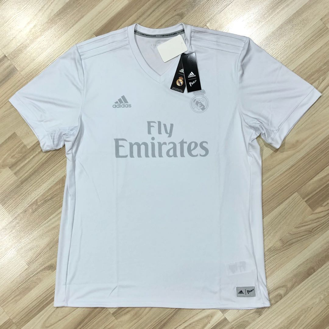 1e4533090 Adidas Real Madrid Parley Jersey 2017 2018