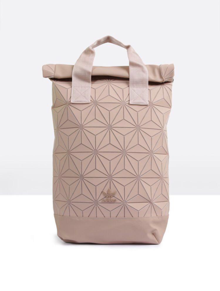 af486ea52478 Adidas X Issey Miyake 3D Roll Top Backpack in Ash Pearl