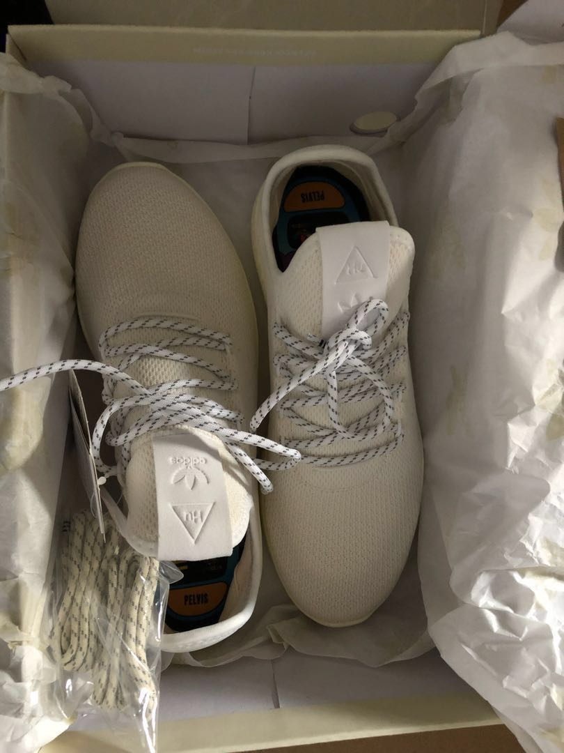 wholesale dealer ddbcf 40c65 Adidas x Pharrell Williams HU Tennis Hu 'Blank Canvas', Men's ...