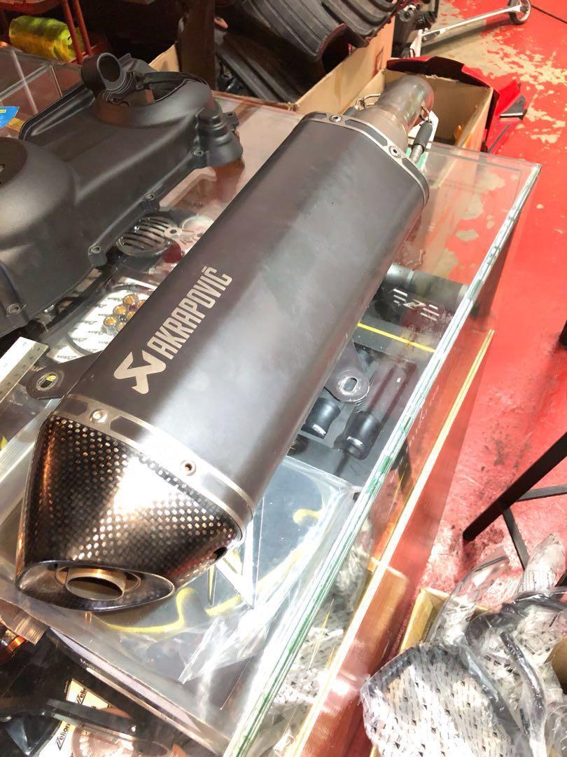 Akrapovic exhaust GTS300