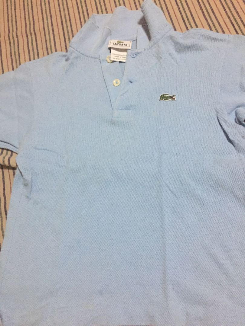 Authentic LACOSTE polo shirt for kids 62bc653806