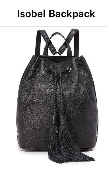 3292ac817 authentic rebecca minkoff isobel backpack black, Women's Fashion ...
