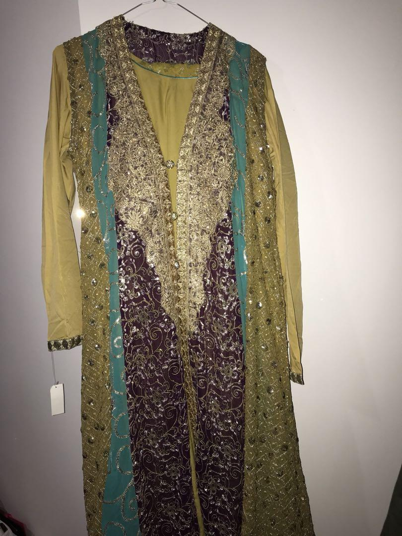 Beautiful Pakistani gown. Never worn and brand new