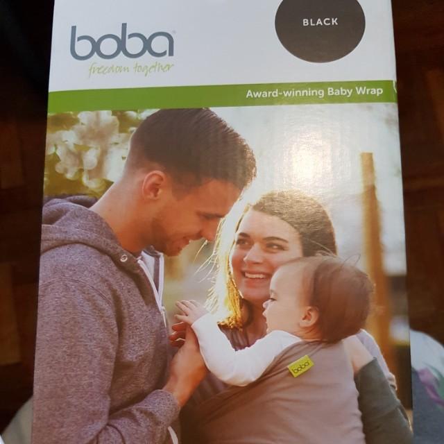 Boba Wrap Black Babies Kids Strollers Bags Carriers On