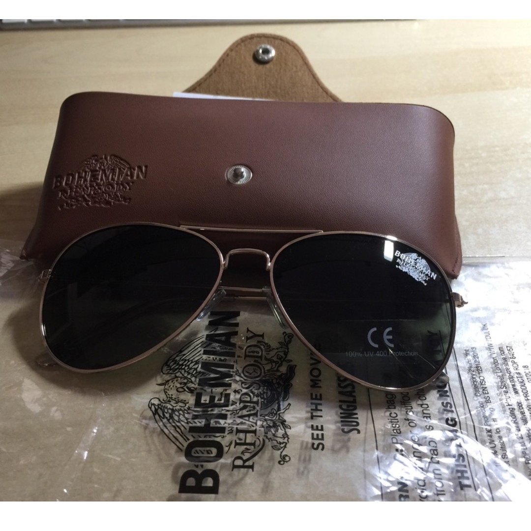 3fe5f3973a94 Bohemian Rhapsody aviator sunglasses, Men's Fashion, Accessories, Eyewear &  Sunglasses on Carousell