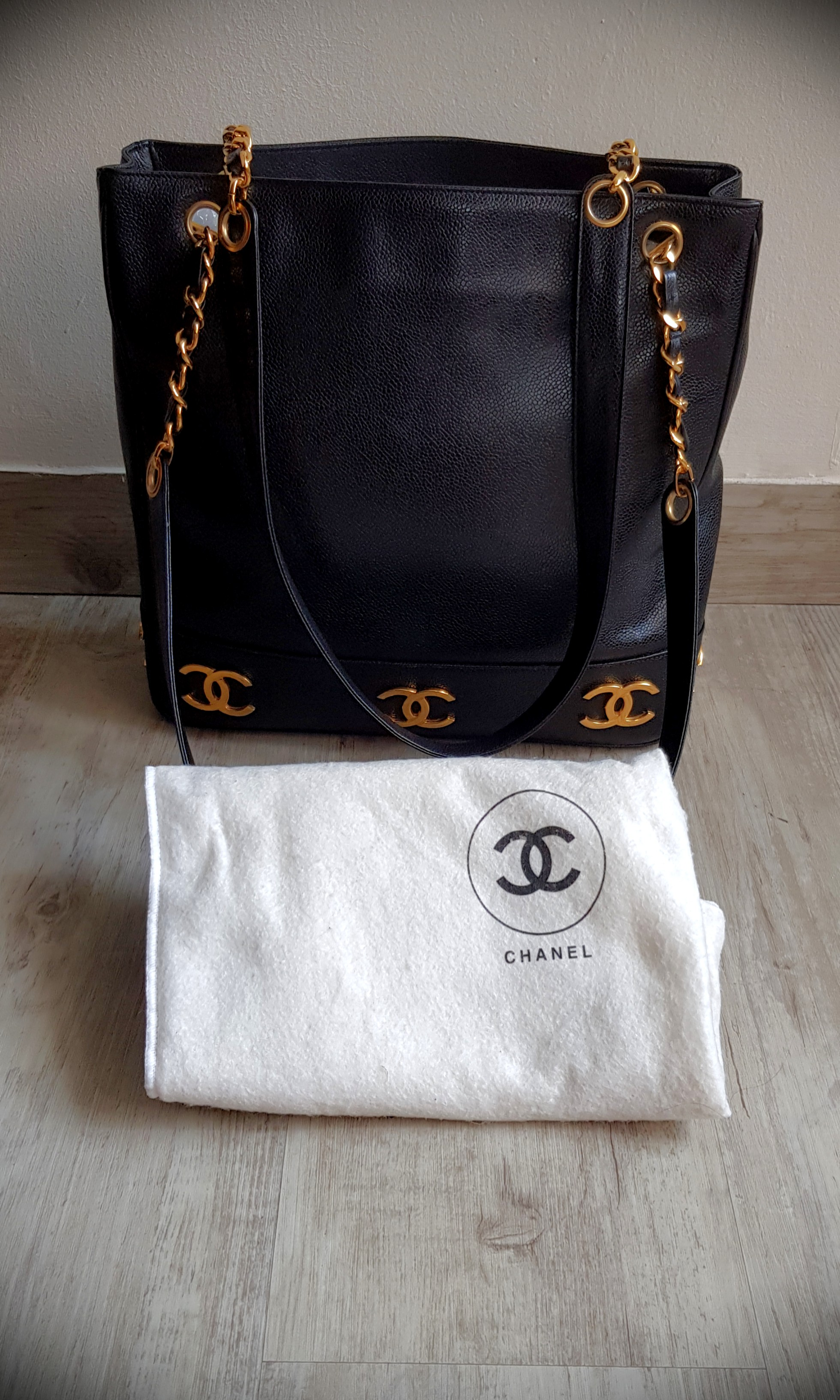 c1a3b6cfe4fe Chanel Bag 24k Gold plated, Luxury, Bags & Wallets, Handbags on ...