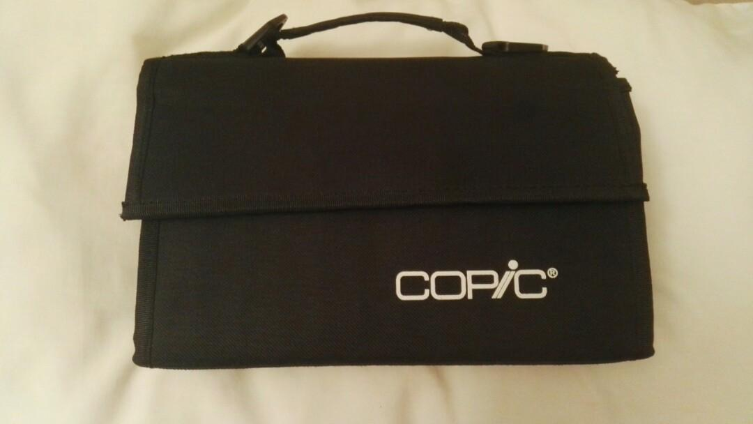 Copic Markers with Case