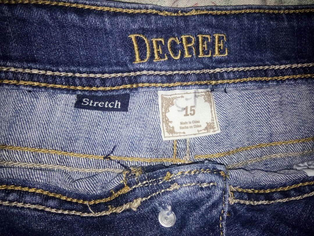 6599489c32 Decree Stretch Short, Women's Fashion, Clothes, Pants, Jeans ...
