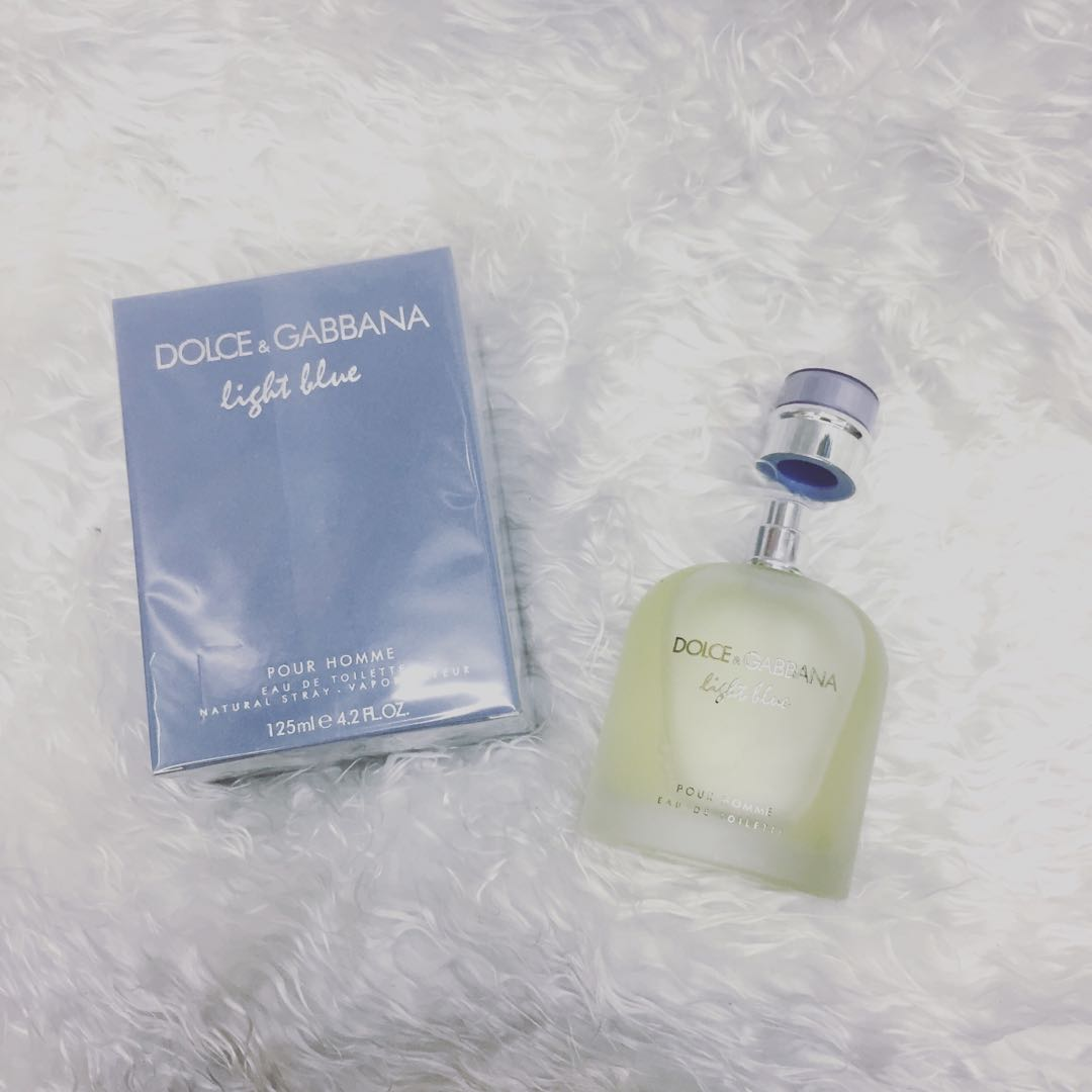 75f2b8dd0a0c36 Dolce Gabbana light blue Pour Homme, Health   Beauty, Perfumes, Nail Care,    Others on Carousell