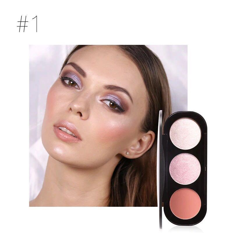 Focallure Smooth Glow Cheek Colour highlighter Palette