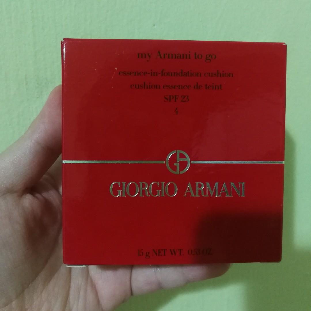 Giorgio Armani My Armani To Go Essence In Foundation Cushion Spf 23 4