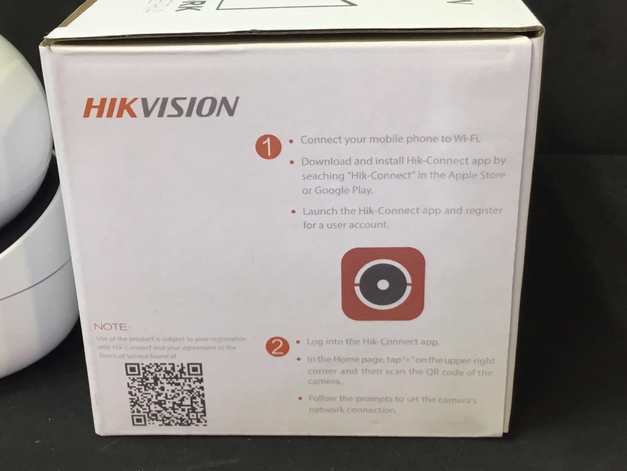 Hikvision Q1 WiFi PT Camera, Electronics, Others on Carousell