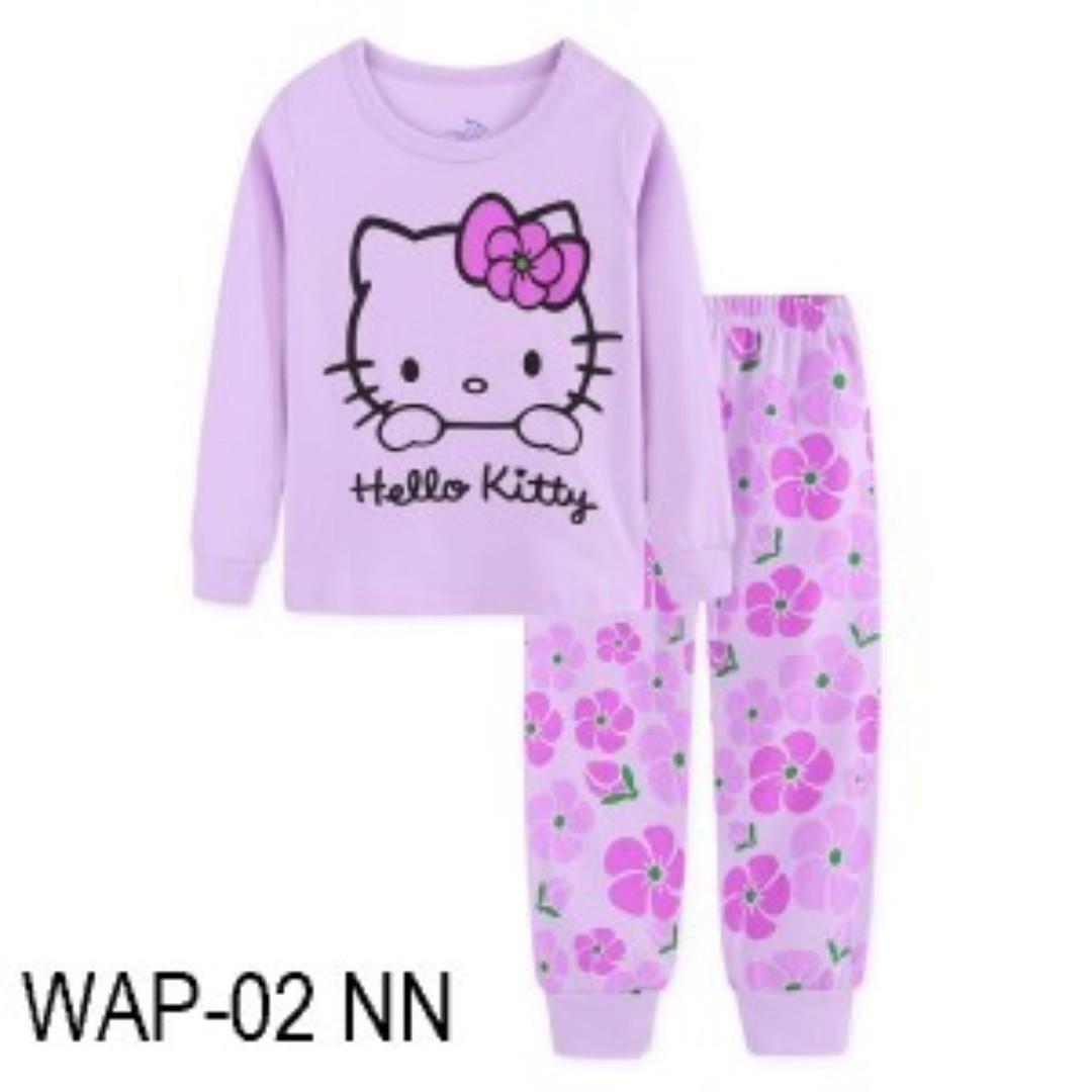 63441b04fa5 INSTOCK HELLO KITTY PJS, Babies & Kids, Girls' Apparel, 4 to 7 Years ...