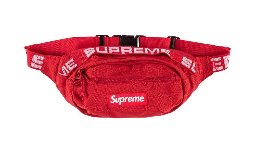 de3bb61fac16 INSTOCKS Red SS18 Supreme Waist Bag