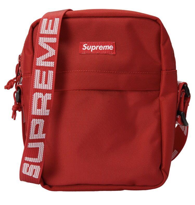INSTOCKS SS18 Red Supreme Shoulder Bag 83e2364e12366