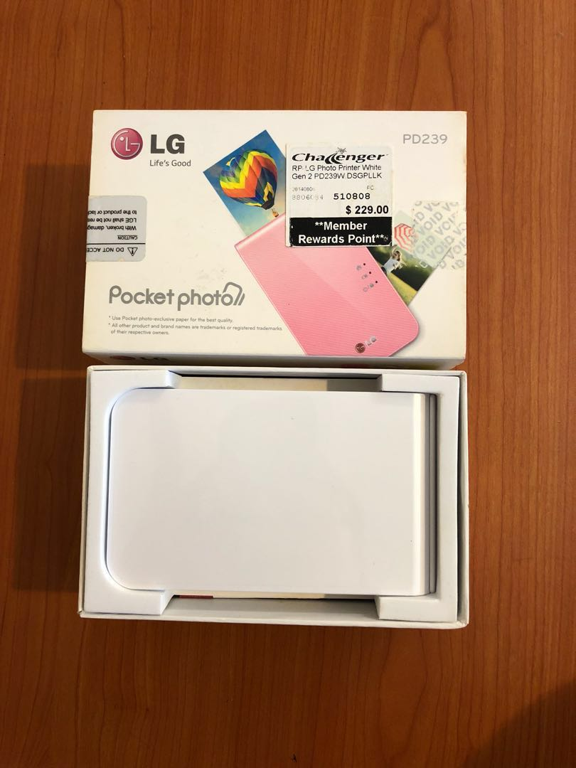 Lg Pocket Photo Printer Mobile Phones Tablets Others On Carousell