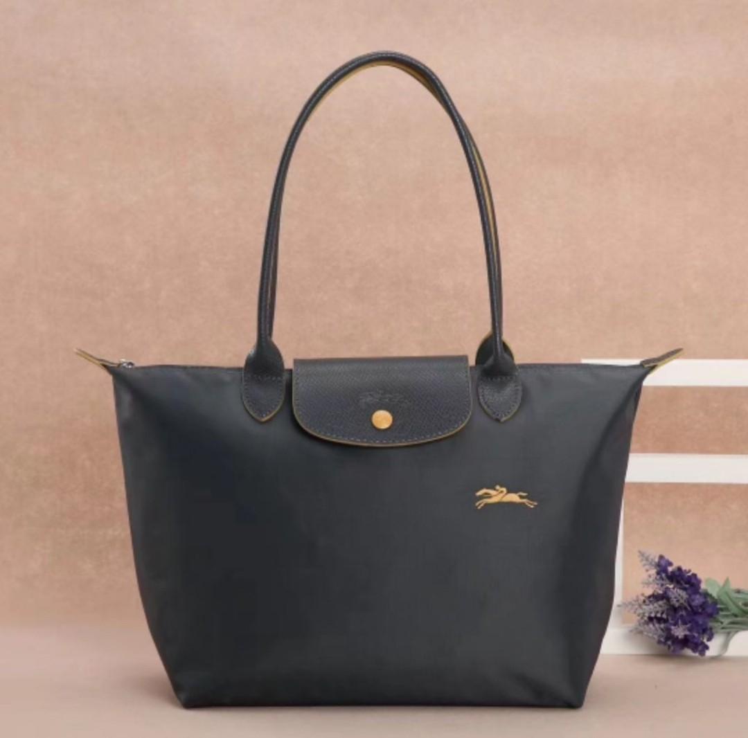 Longchamp Le Pliage - Nylon shoulder tote bag long handle, Luxury ... 306d9ac98a
