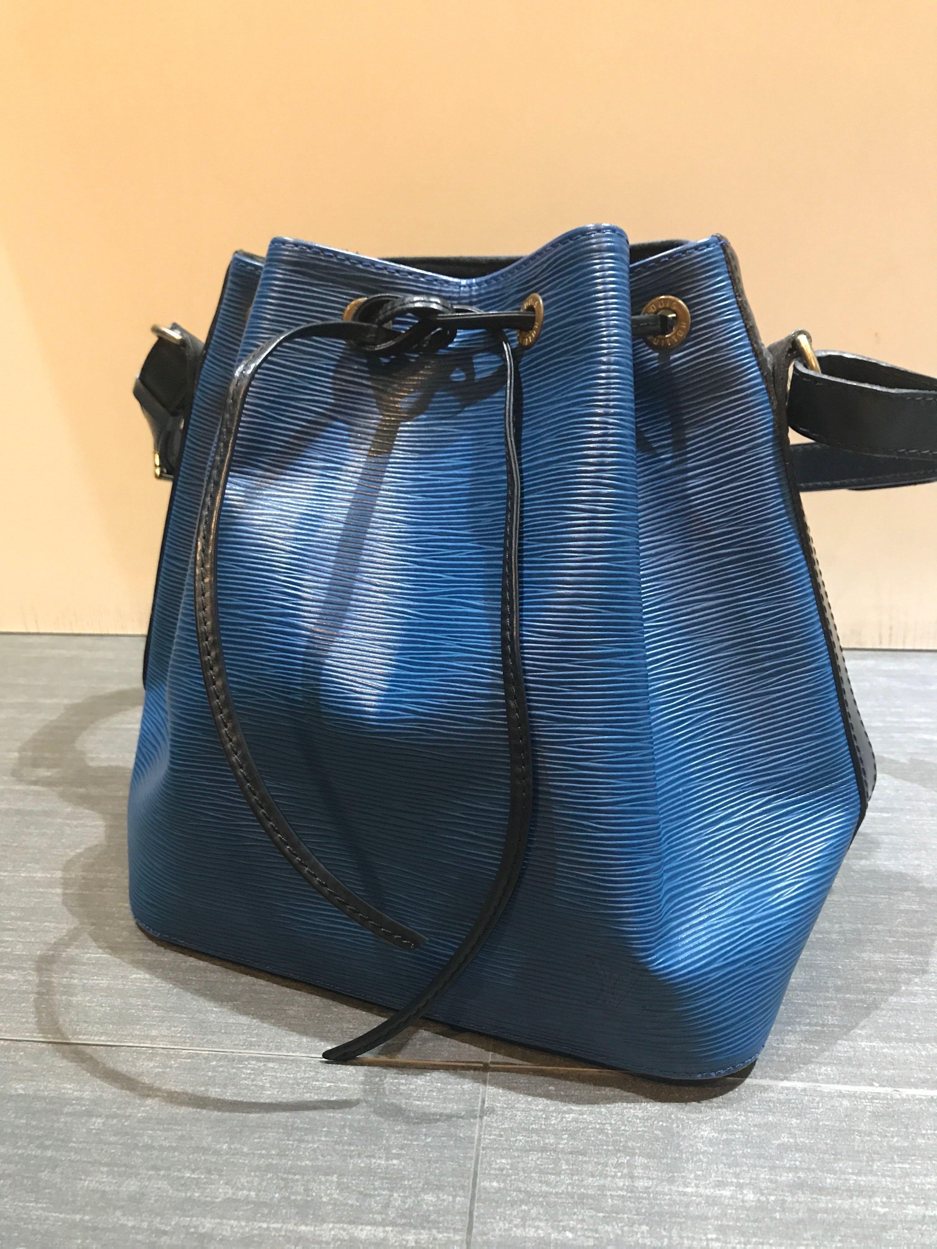e324d99ed45c Louis Vuitton Vintage Two Tone Epi Petit Noe Toledo Blue Black ...