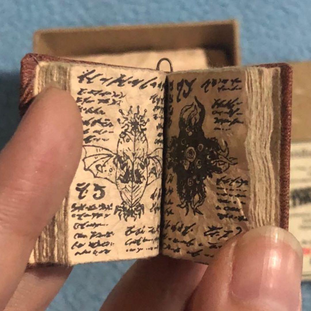 Mini Necronomicon  H P  Lovecraft  Mininomicon Keepsake