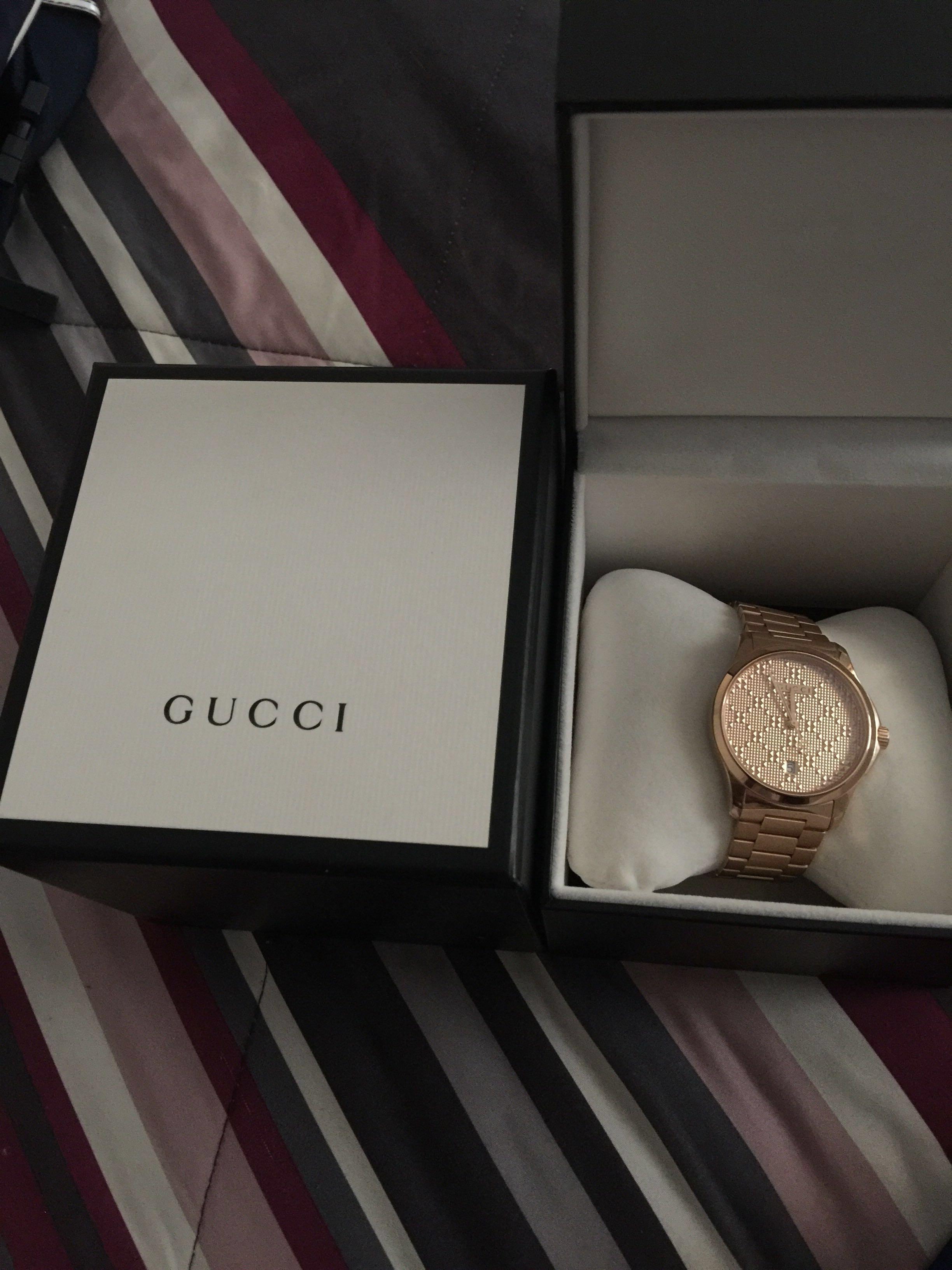 Mint Gucci Watch