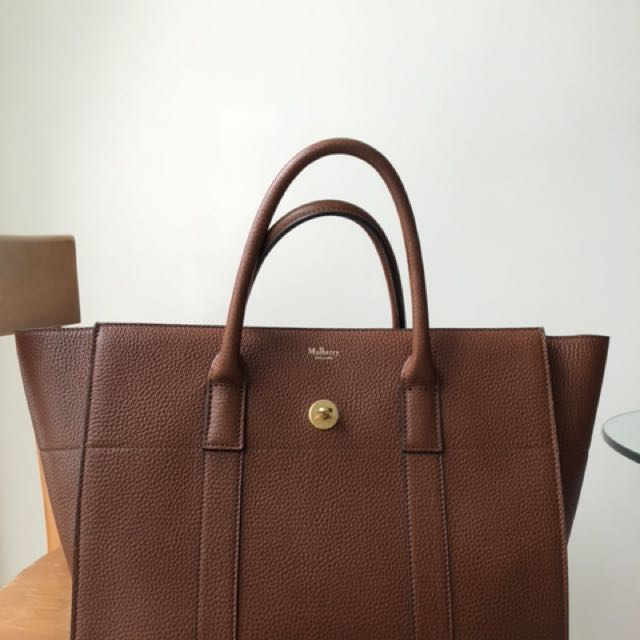 d83722bcd26 Mulberry Bayswater with Strap (Oak), Luxury, Bags & Wallets ...