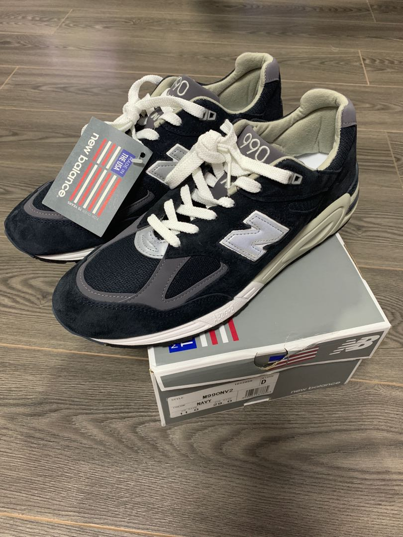 purchase cheap 26296 deb34 New Balance 990NV2 US11