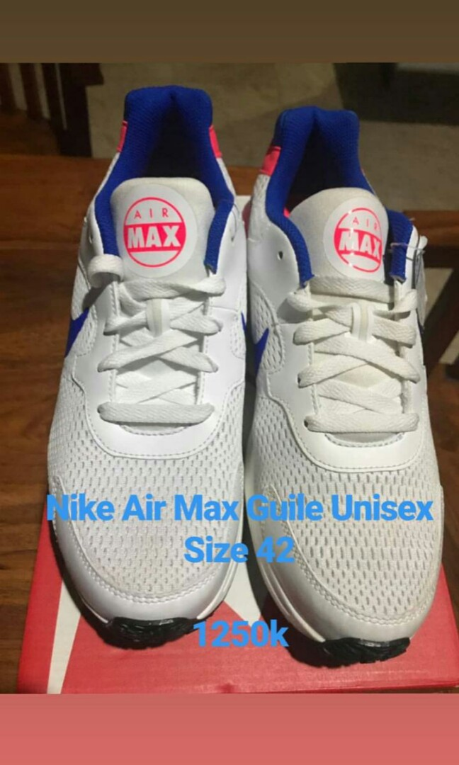 Nike Airmax Guile Womens Fashion Womens Shoes On Carousell