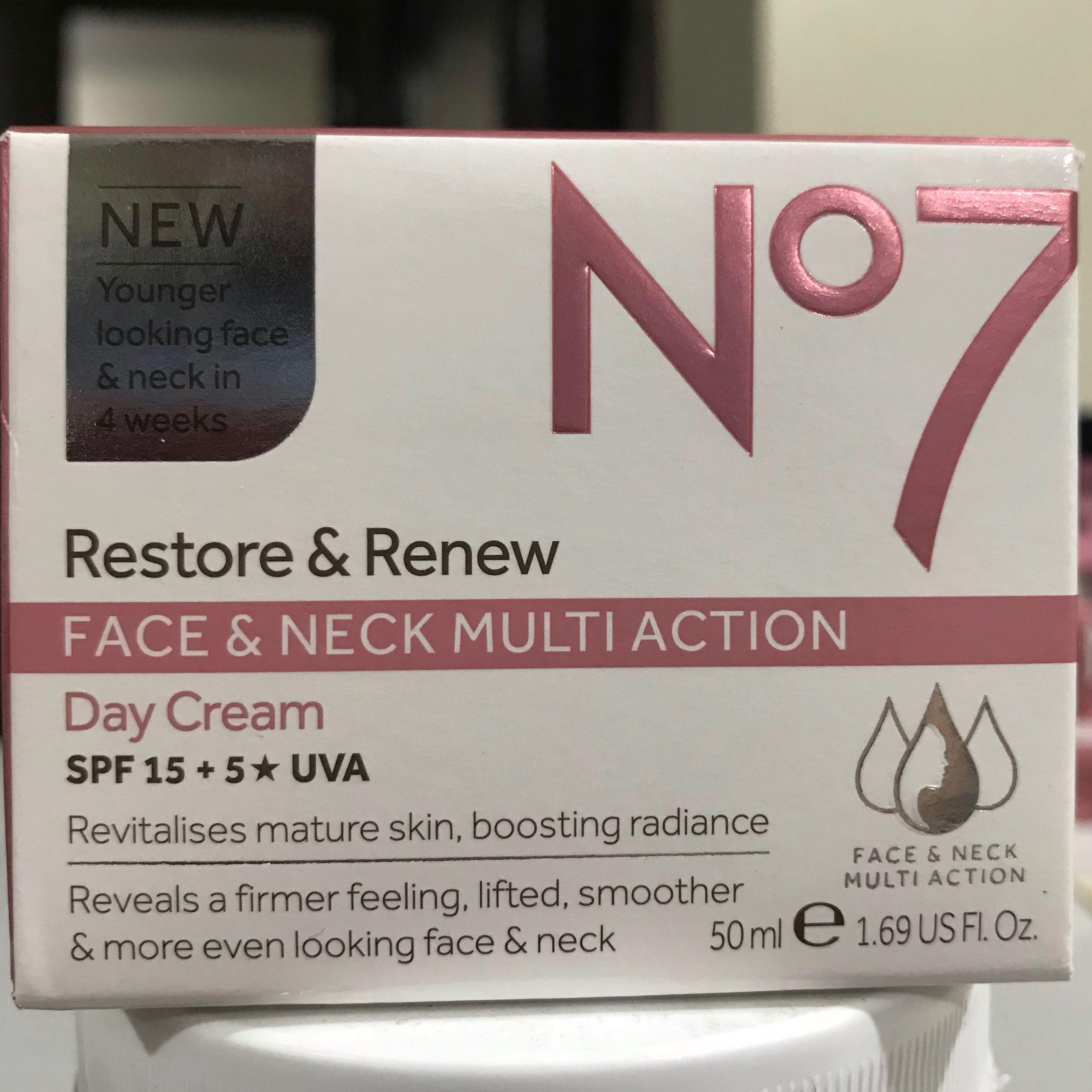No7 Restore & Renew Face & Neck Multiaction on Carousell