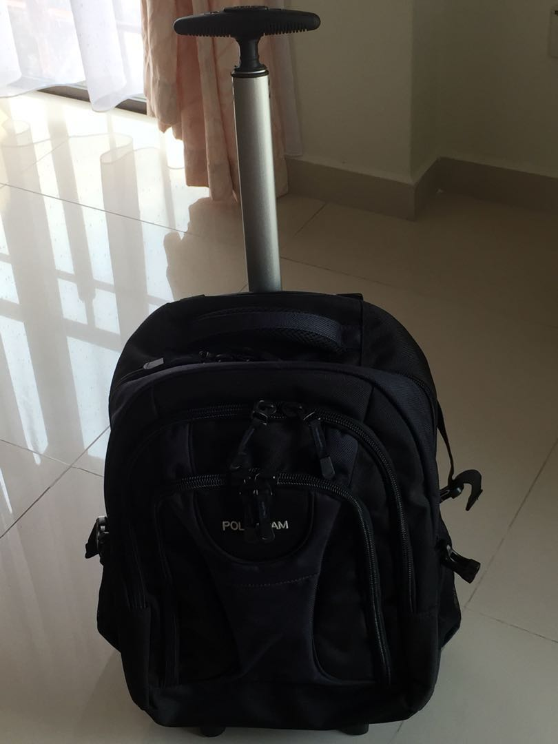 Polo backpack wheels travel essentials luggage on carousell jpg 810x1080 Polo  backpack roller 9ab1da2a82